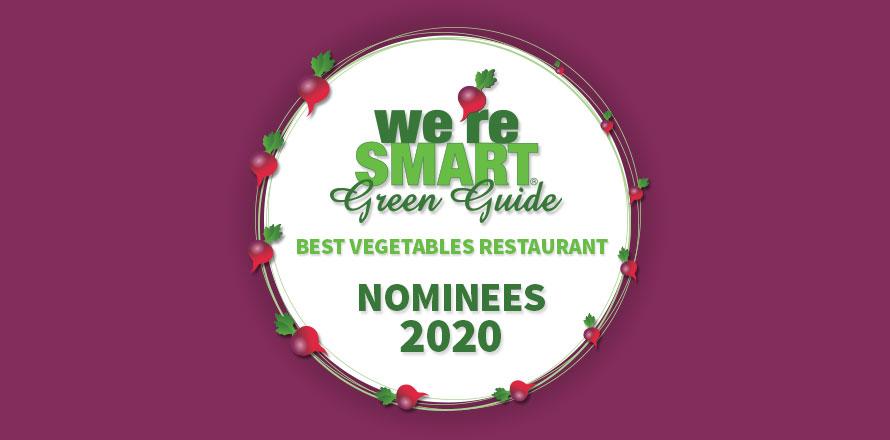 Genomineerden voor beste groenterestaurant ter wereld 2020